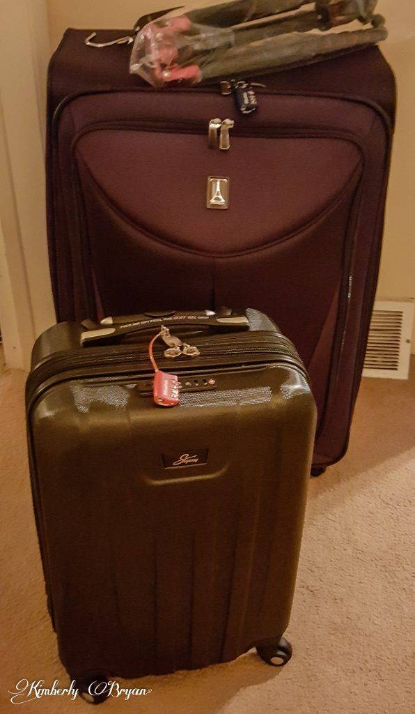 Luggage ready to go!
