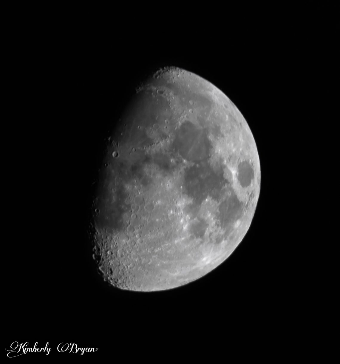 October Moon at 71.4% Waxing Gibbous.