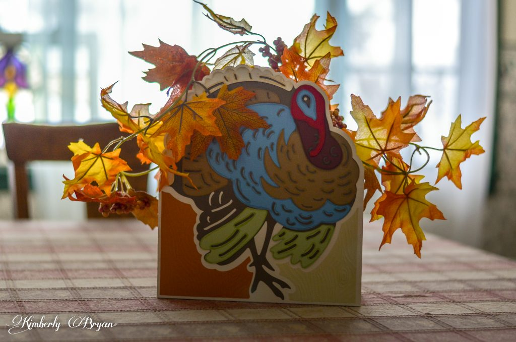 The other side of the Turkey Centerpiece.