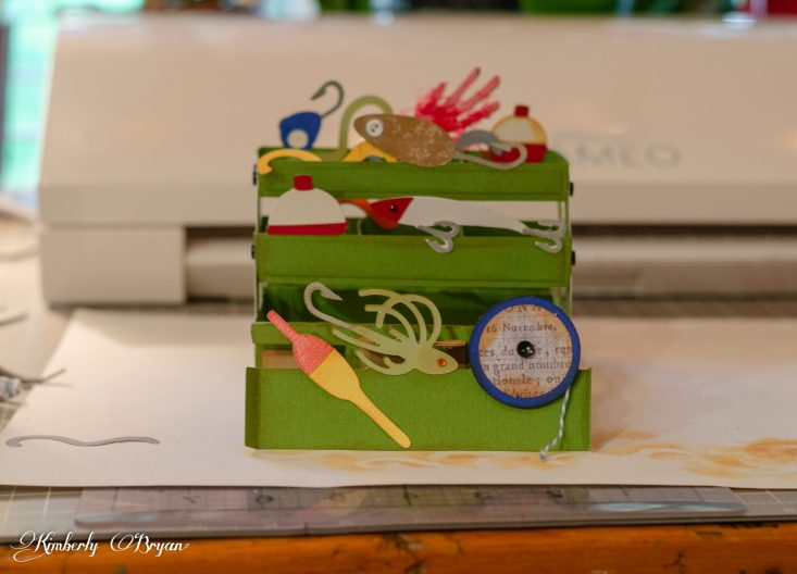 Download Tackle Box 3d Box Card From Sunday With Dad Photos Food And Fun