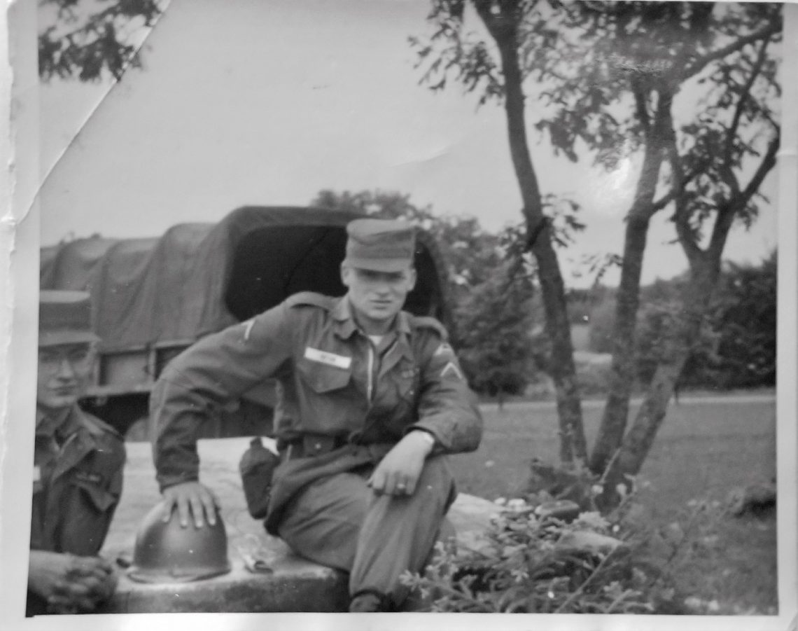 You are looking at a photo of my dad who was in the First Infantry during the Cold War. This is a dedicated blog post to my father, Happy Father's Day.